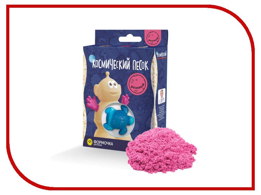 цена Набор для лепки Космический песок 150гр Pink KP015P