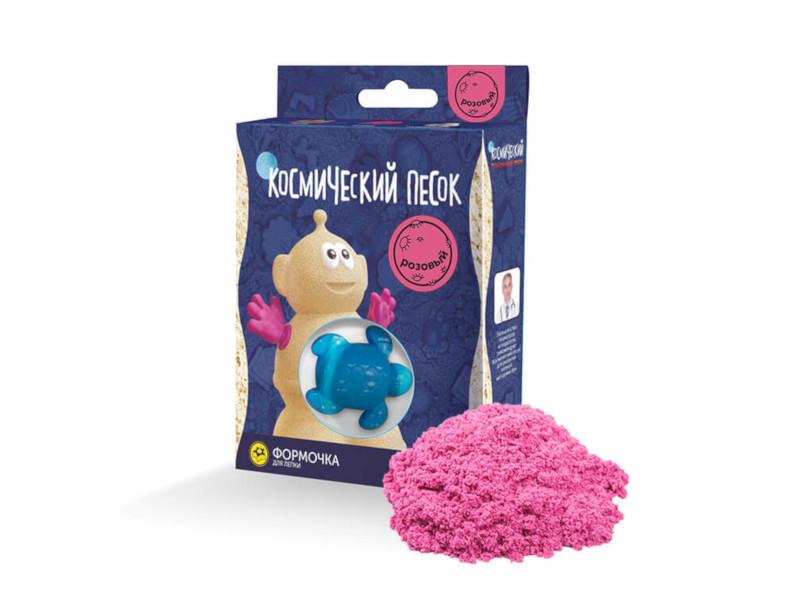 Набор для лепки Космический песок 150гр Pink KP015P