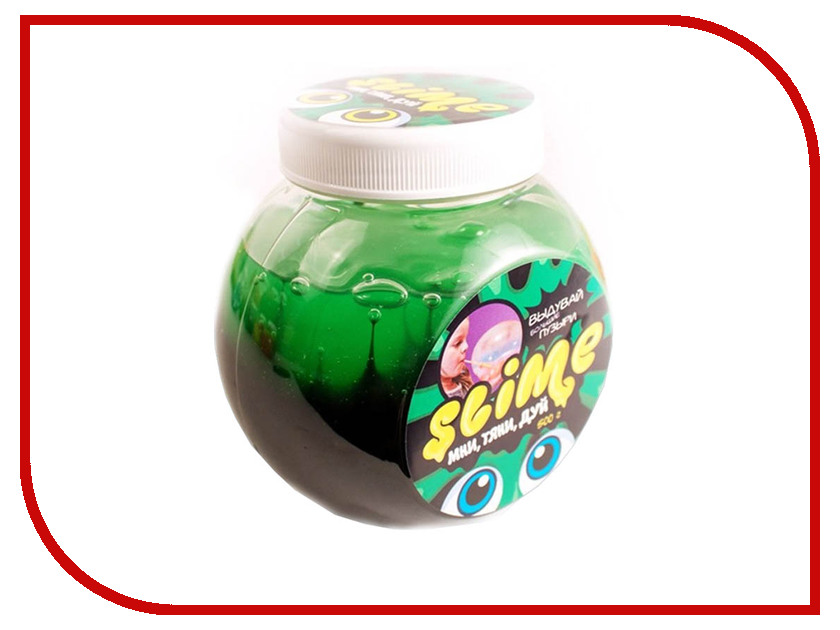 Игрушка антистресс Лизун Slime Mega Mix 500гр Black/Green S500-6 nutrend bcaa nutrend mega strong powder 500гр