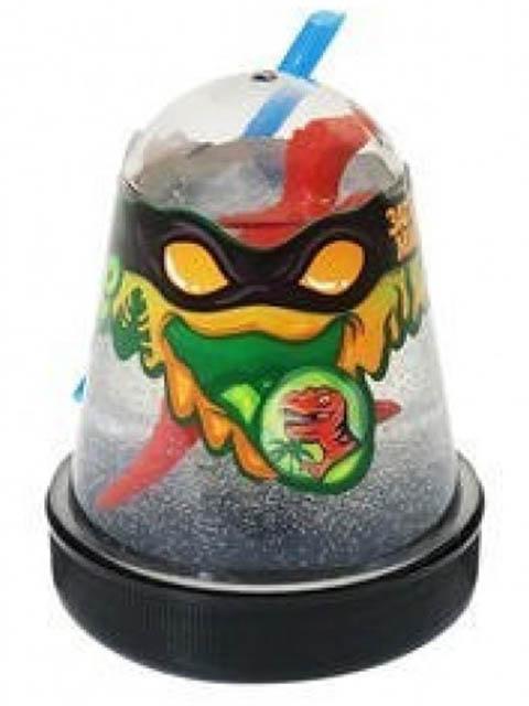 Слайм Лизун Slime Ninja 130гр Затерянный мир, динозавр S130-13