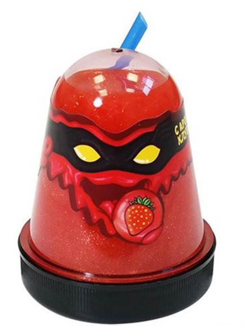Игрушка антистресс Лизун Slime Ninja 130гр с ароматом клубники S130-17