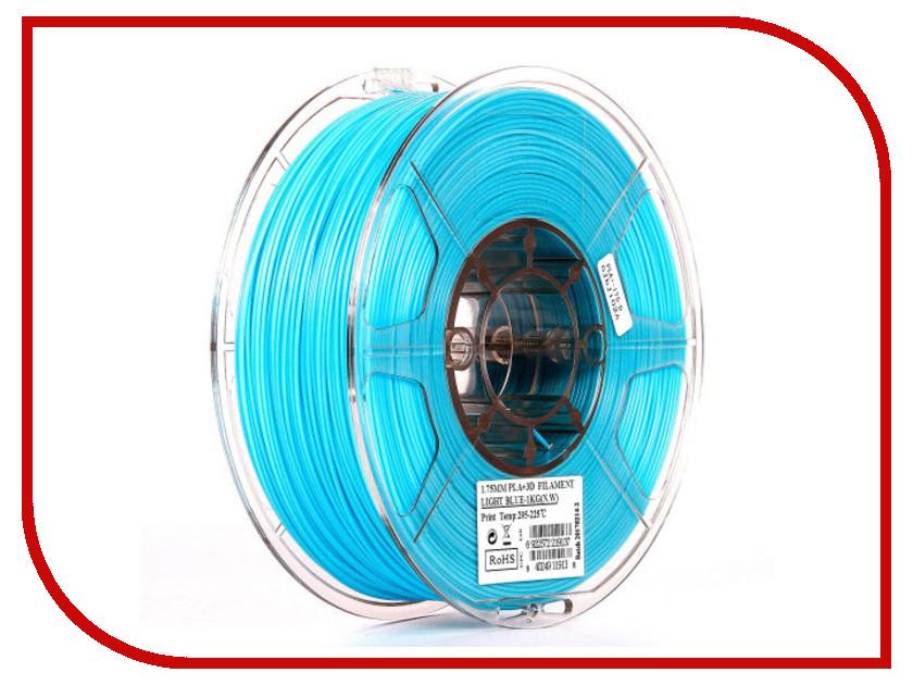 Аксессуар eSun PLA+ нить 1.75mm 1kg Light Blue Т0026303 esun pla пластик в катушке gold pla175j1