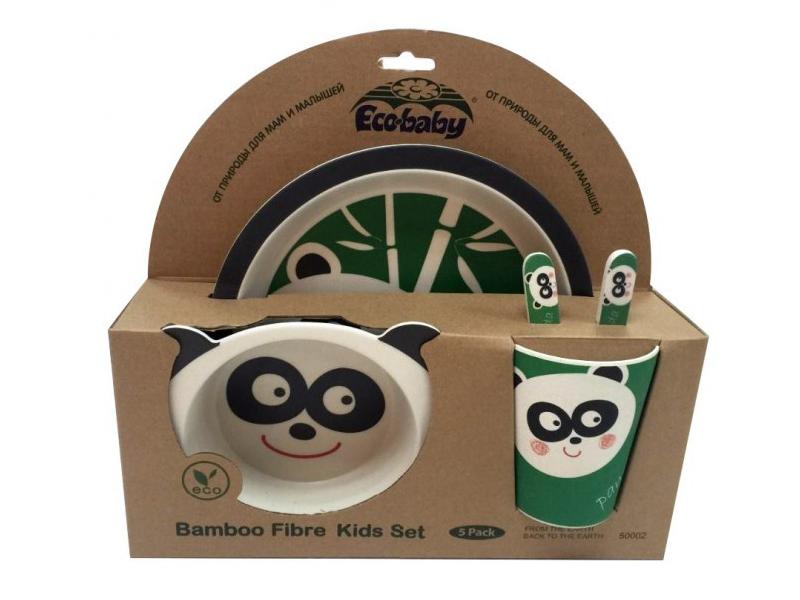 Набор посуды Eco Baby Панда 500121