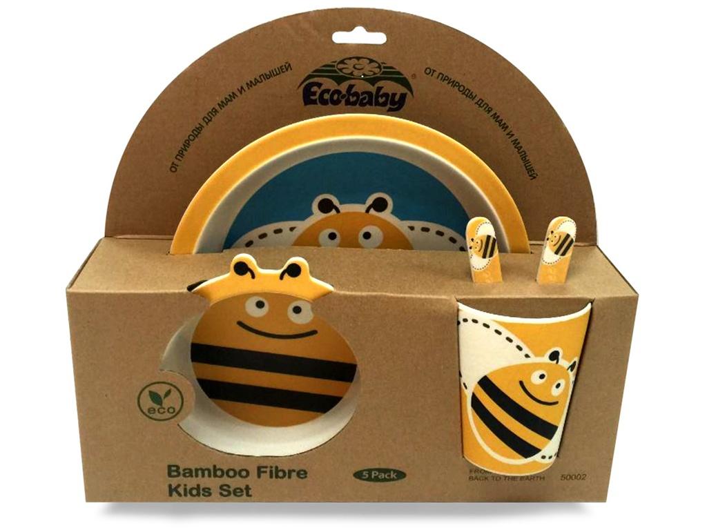 Набор посуды Eco Baby Пчелка 500323