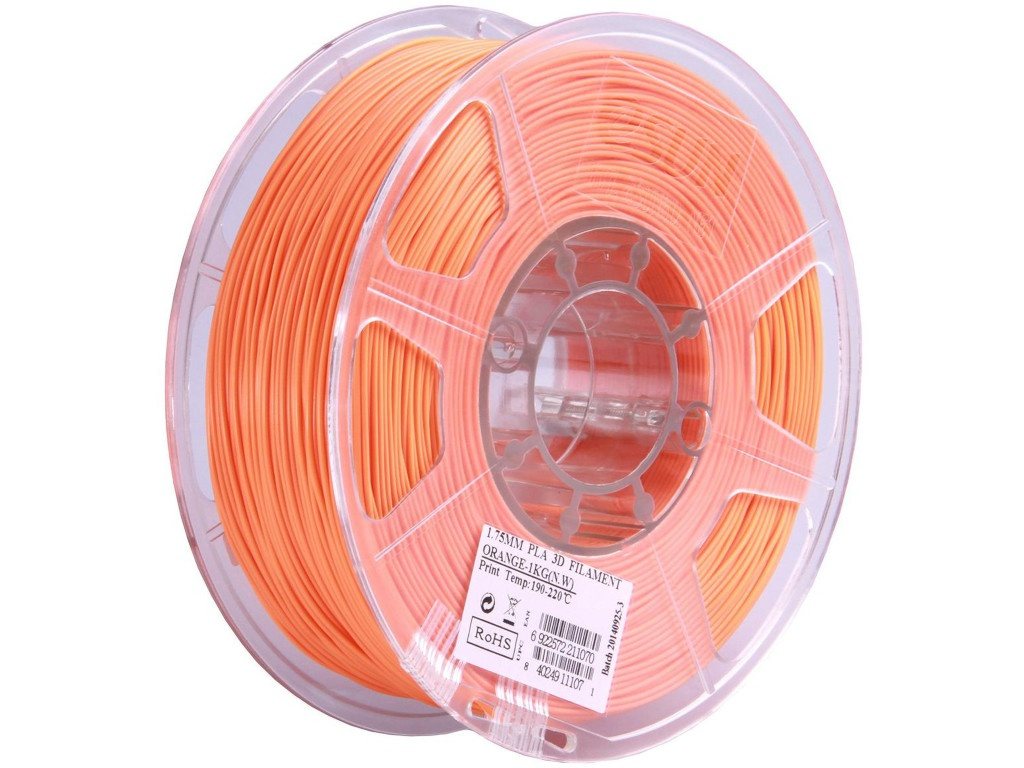 Аксессуар eSun PLA нить 1.75mm 1kg Orange Т0025296 bq pla 1 75mm vitamine orange 1kg 05bqfil028