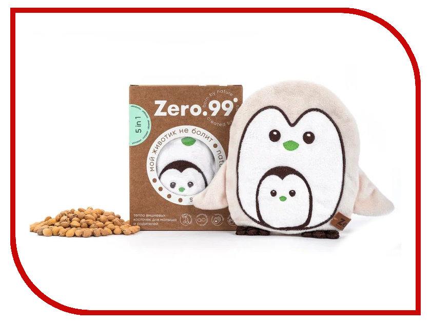 Игрушка-грелка ZerO-99 Пингвин с вишневыми косточками 19212 грелки warmies cozy plush игрушка грелка змея
