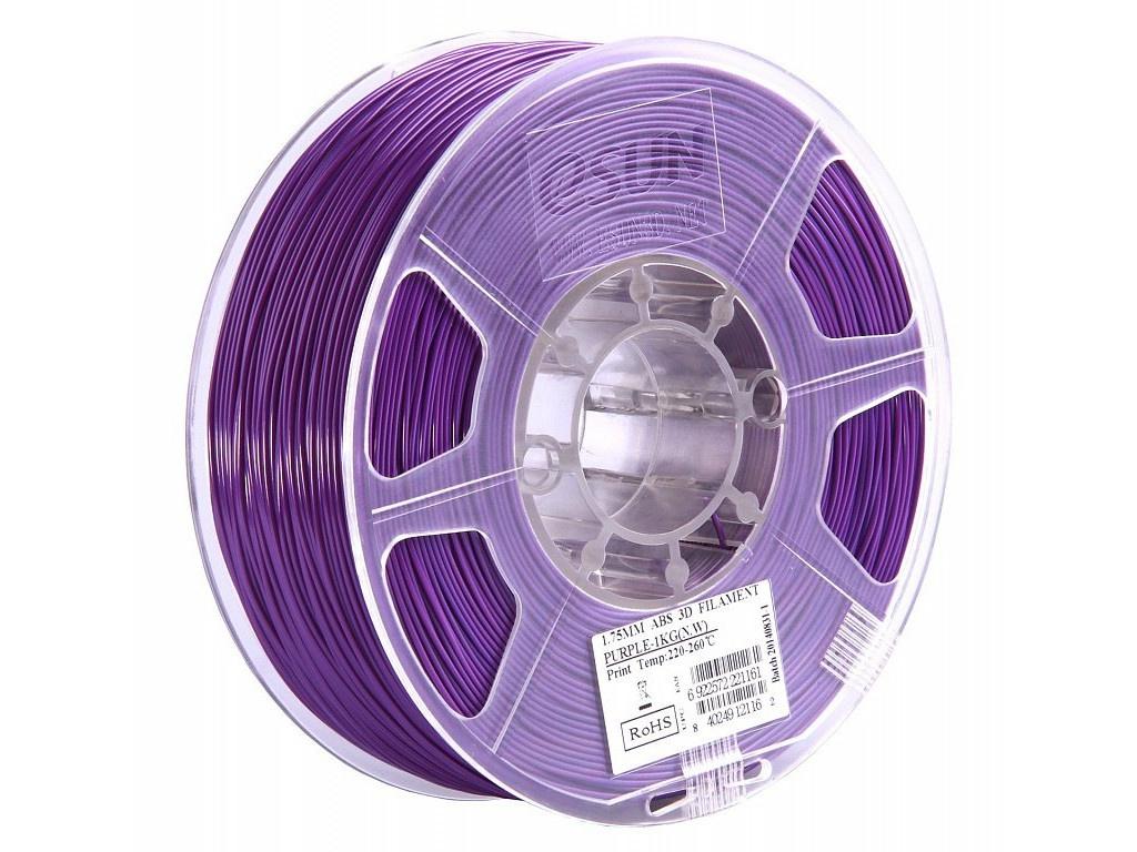 Аксессуар eSun ABS нить 1.75mm 1kg Purple Т0025322