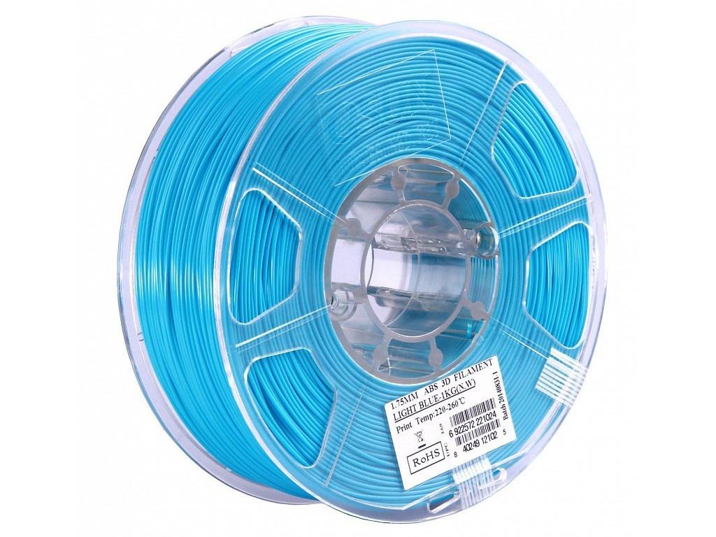 цена на Аксессуар eSun ABS нить 1.75mm 1kg Light Blue Т0025311