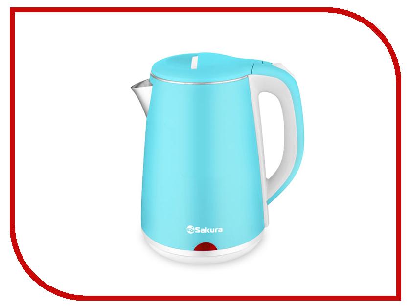 Чайник Sakura SA-2150WBL фен sakura sa 4032p