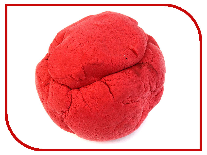 Набор для лепки Эластик 120гр Red PE0153 набор для лепки bic kids пластилин 12 цветов 120гр 947713