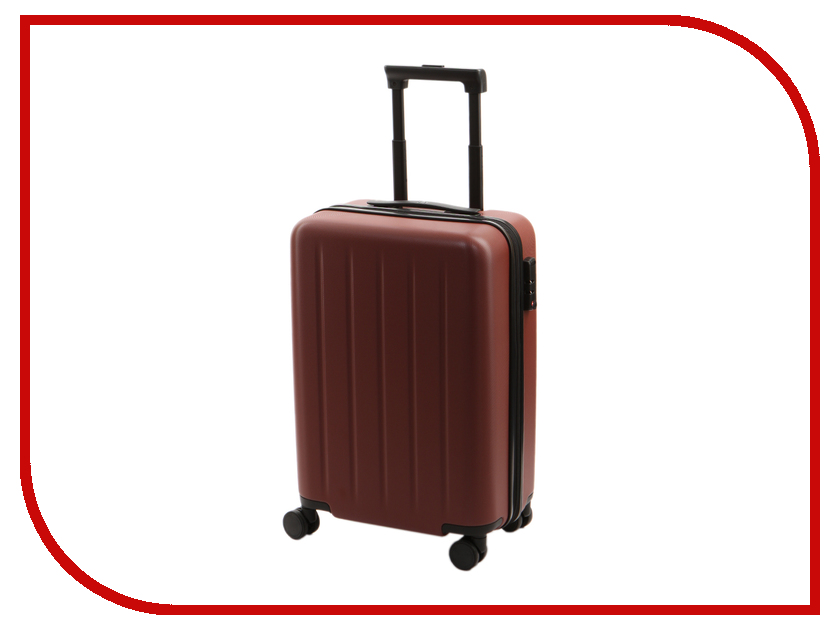 Чемодан Xiaomi RunMi 90 Points Trolley Suitcase 20 Nebula Red