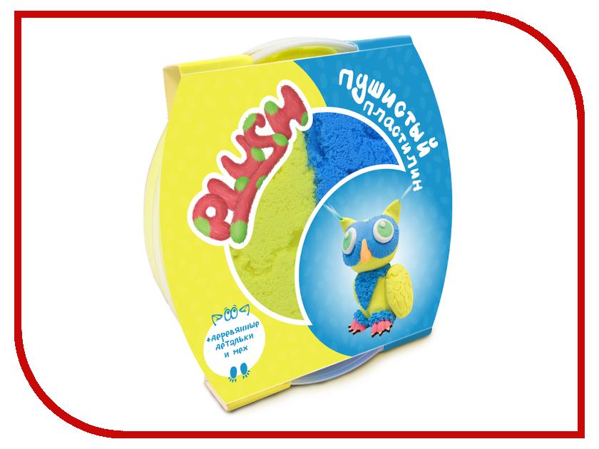 Набор для лепки Plush 160гр Blue/Yellow PL02201803 20cm blue elf plush stuffed doll toy