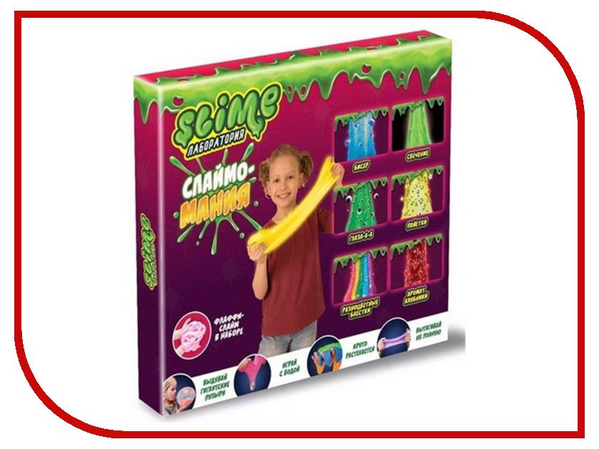 Игра Лизун Slime Лаборатория Большой набор для девочек 300гр SS300-5 huppa 300гр белое