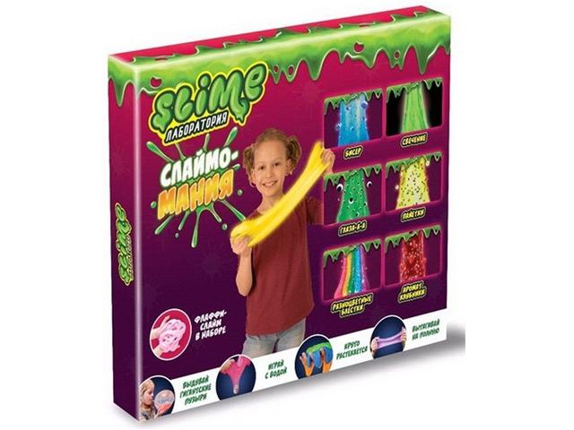 Игра Лизун Slime Лаборатория Большой набор для девочек 300гр SS300-5