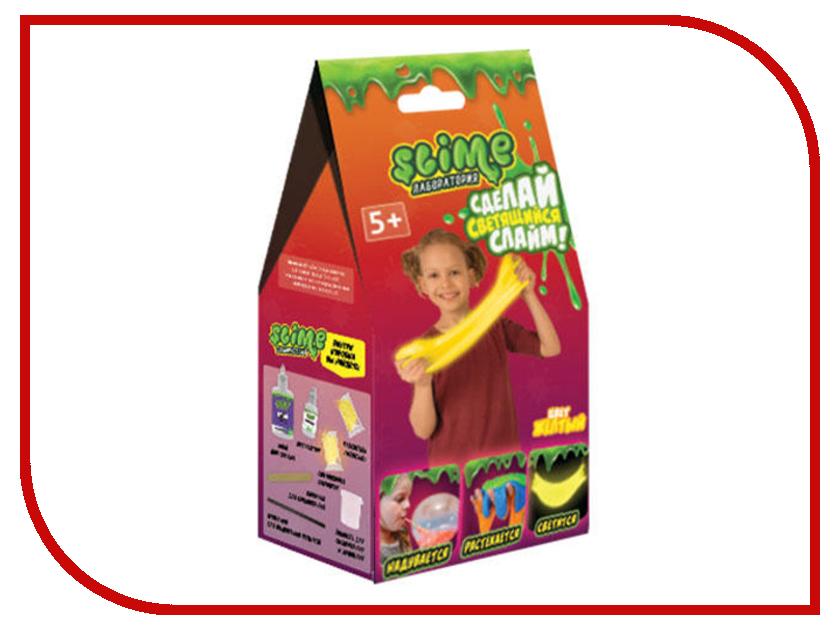 Игра Лизун Slime Лаборатория Малый набор для девочек 100гр Yellow SS100-1 волшебный мир набор средний slime 3 в 1 лаборатория