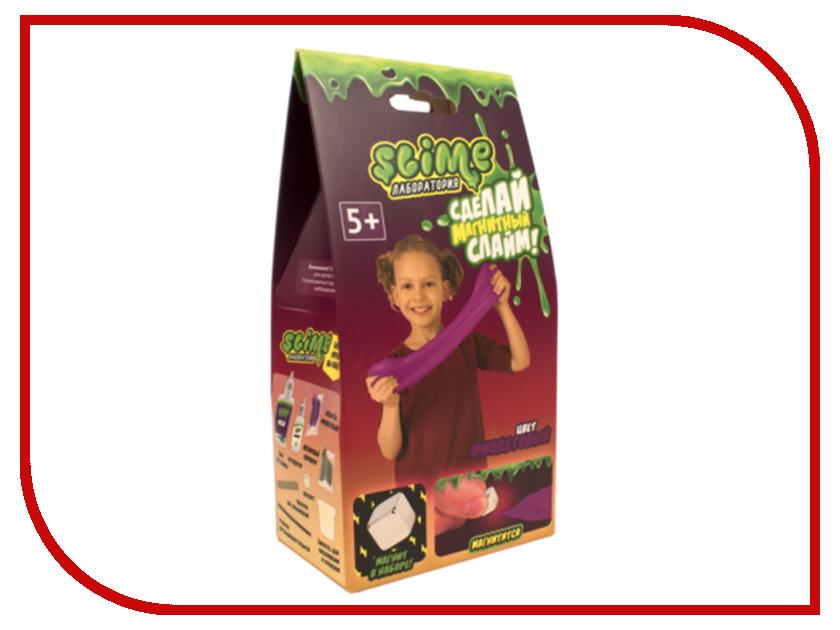 Игра Лизун Slime Лаборатория Малый набор для девочек, магнитный 100гр Purple SS100-30181 волшебный мир набор средний slime 3 в 1 лаборатория