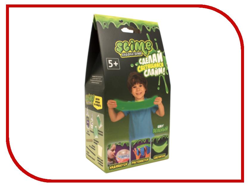 Игра Лизун Slime Лаборатория Малый набор для мальчиков 100гр Green SS100-4 волшебный мир набор средний slime 3 в 1 лаборатория