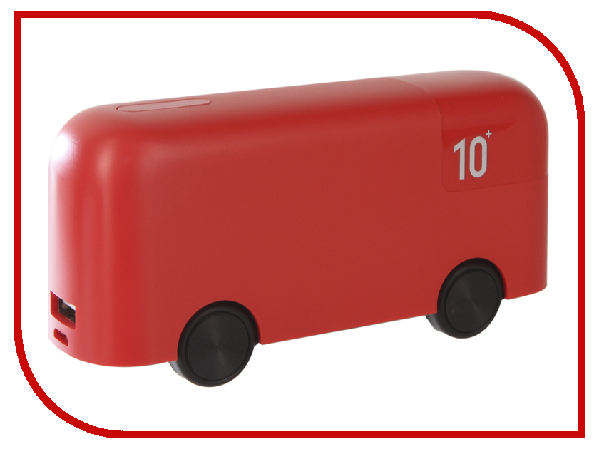 Аккумулятор Red Line Bus 10000mAh Red kebtyvor red