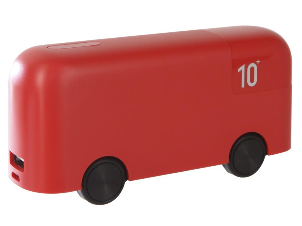 Аккумулятор Red Line Bus 10000mAh Red аккумулятор red line t2 8000mah pink