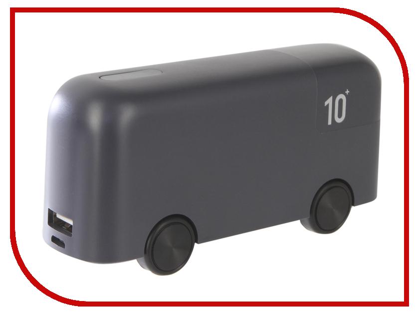Аккумулятор Red Line Bus 10000mAh Grey аккумулятор activ pb10 03 10000mah white grey 63769