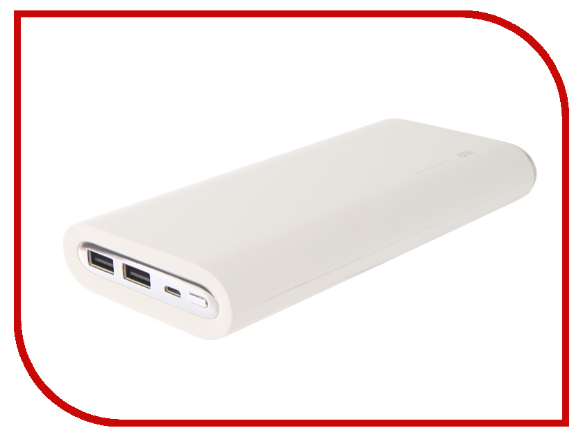 Аккумулятор Red Line RS-20000mAh White аккумулятор hoco b31 rege 20000mah white