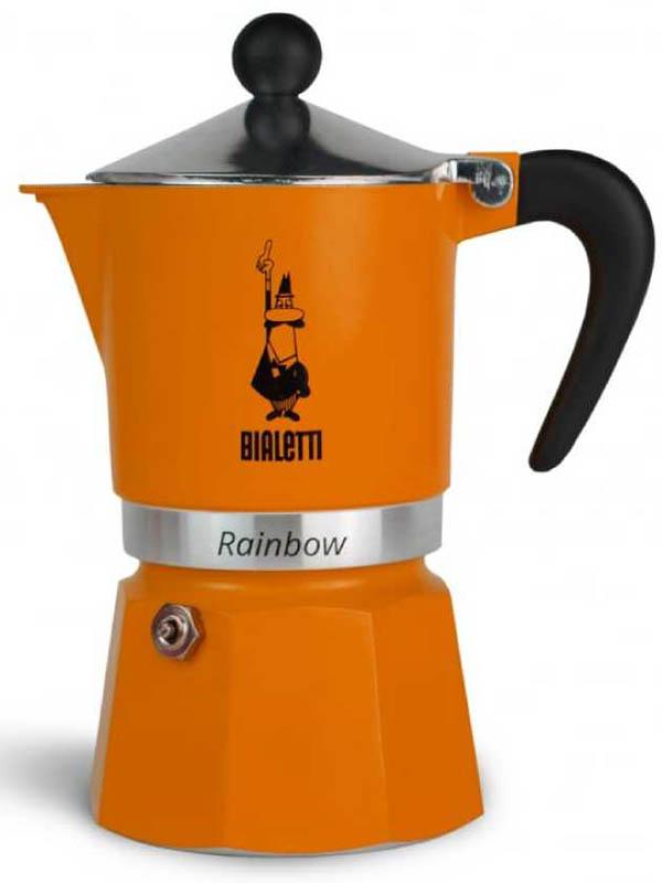 Кофеварка Bialetti Rainbow 3 порции 4992 кофеварка гейзерная bialetti moka induzione 3 порции сталь 4922