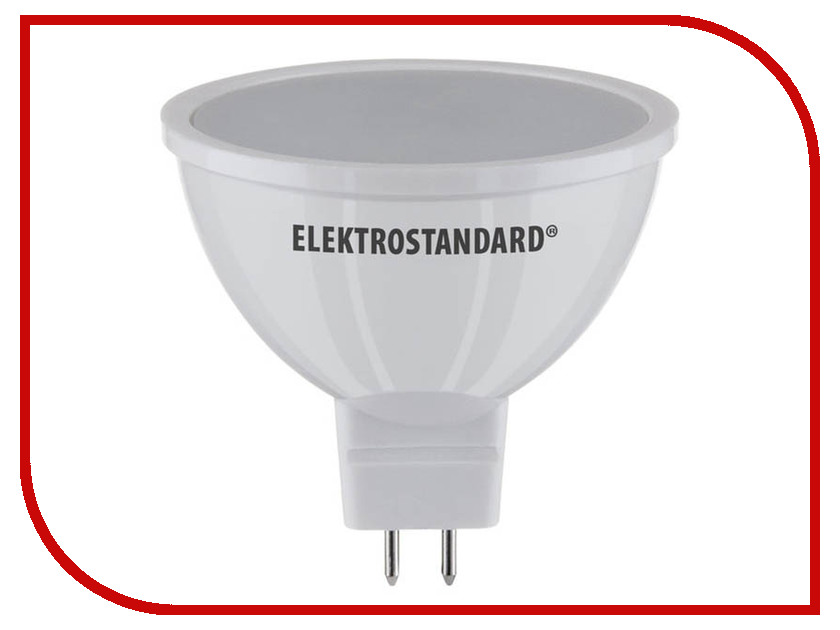 Лампочка Elektrostandard JCDR01 5W MR16 GU5.3 220V 3300K A034862 лампочка artpole mini classic 4w 3300k 220v e14 004314