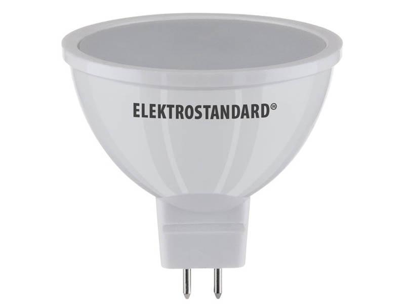 Лампочка Elektrostandard JCDR01 5W MR16 GU5.3 220V 3300K 430Lm A034862