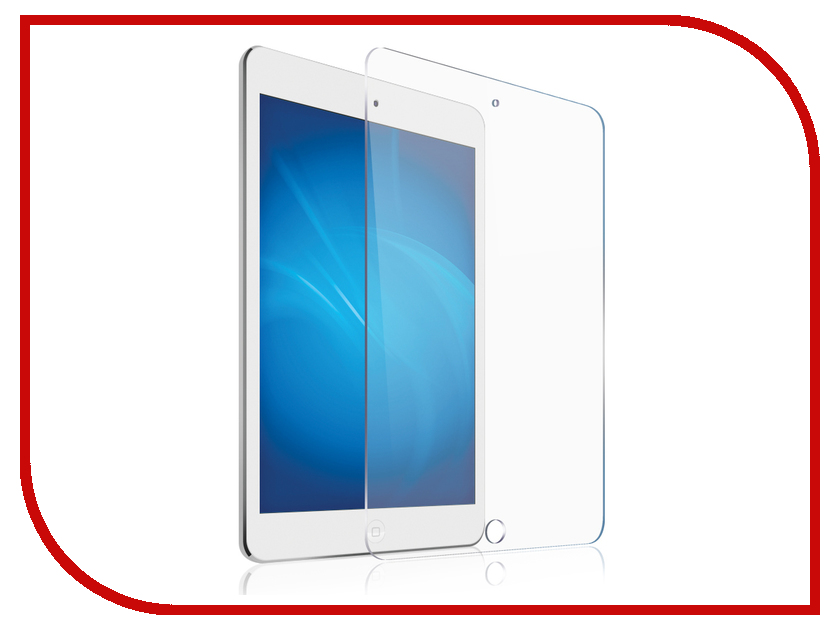 Аксессуар Гибридное защитное стекло Onext для APPLE iPad Pro 9.7 41997 аксессуар гибридное защитное стекло для honor 10 onext 41764