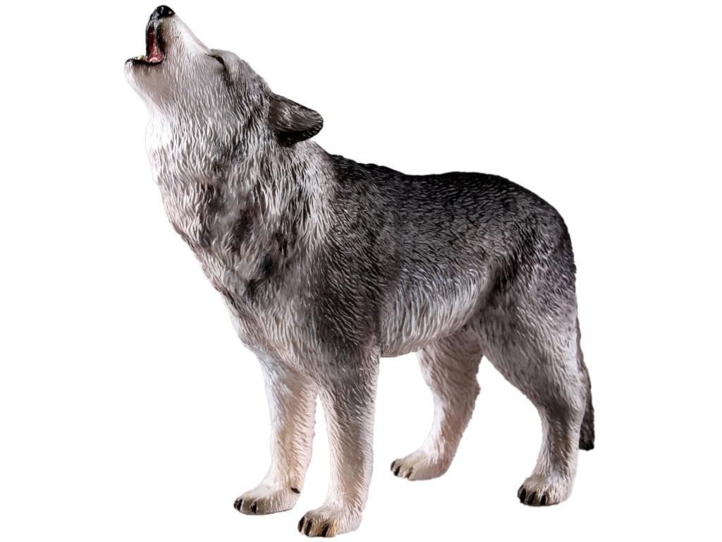 Игрушка Recur Серый волк 18.5cm RC16066W