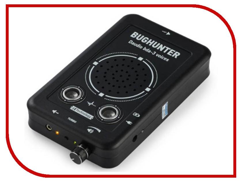 цена Детектор i4technology BugHunter DAudio bda-3 - подавитель диктофонов, микрофонов