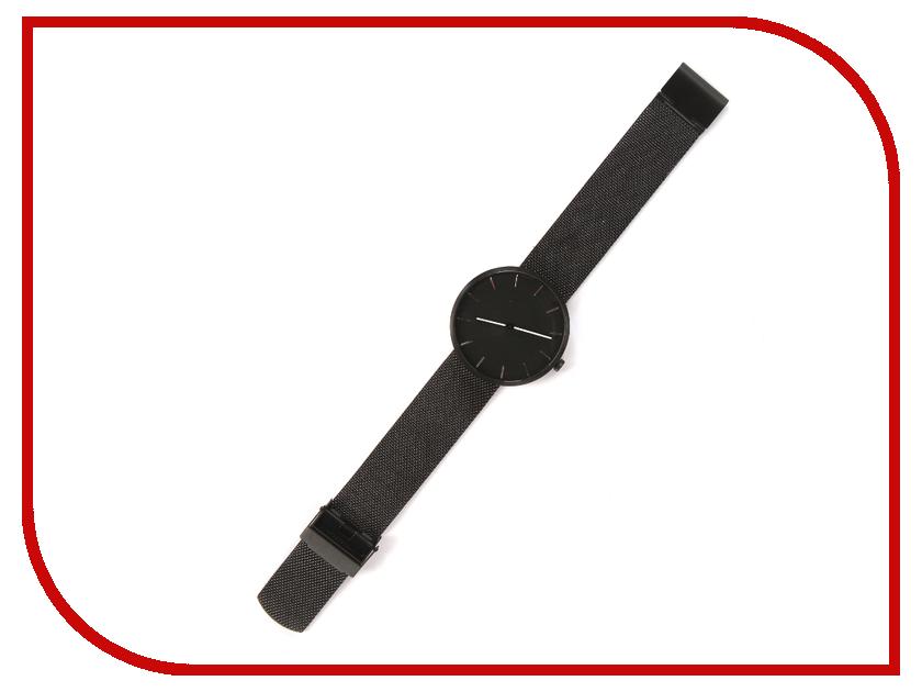 Часы наручные аналоговые Xiaomi Twenty Seventeen Quartz Light Fashion Elegant Black tacs часы tacs ts1101a коллекция twenty