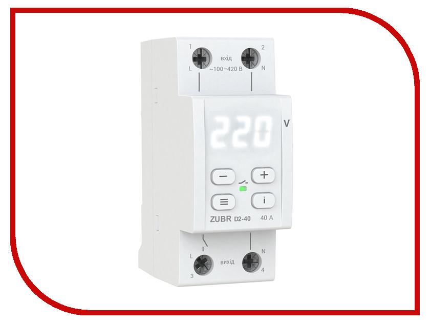Купить Реле контроля напряжения RBUZ / ZUBR D2-40, Украина
