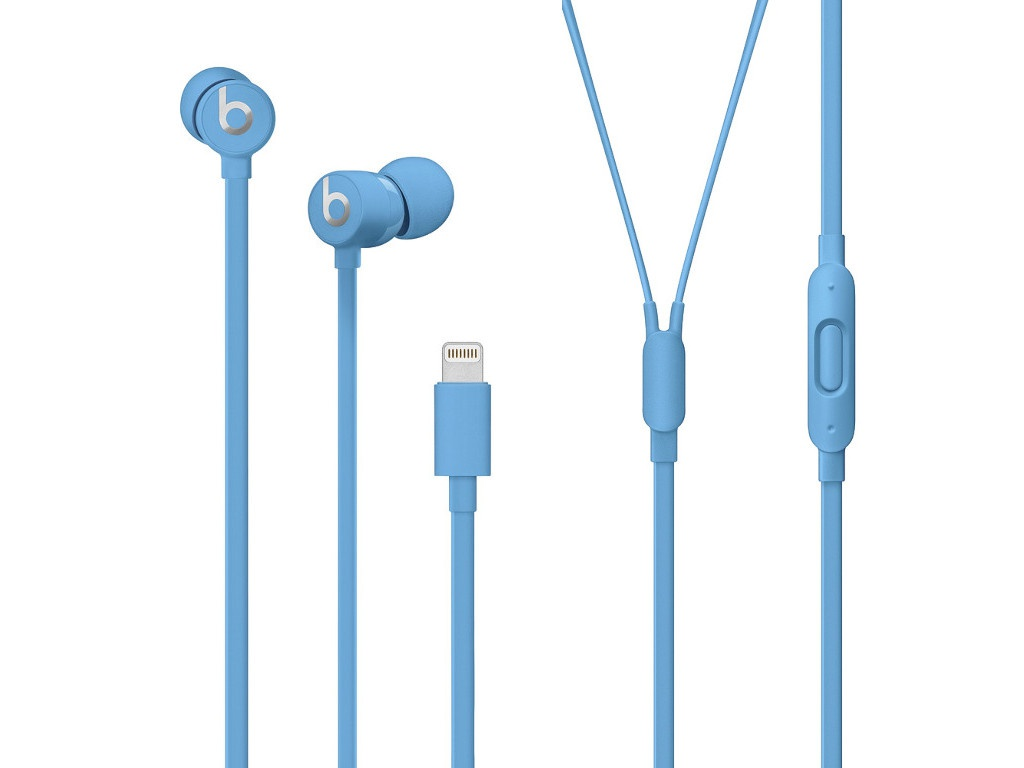 Наушники Beats urBeats3 Earphones with Lightning Connector Blue MUHT2EE/A