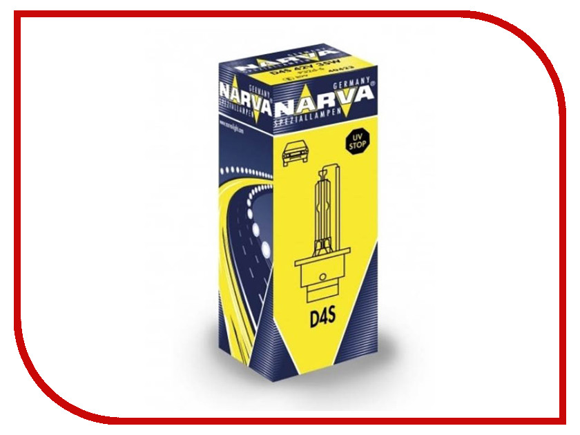 Лампа NARVA D4S 42V-35W P32d-5 84042 автлампа narva hb3