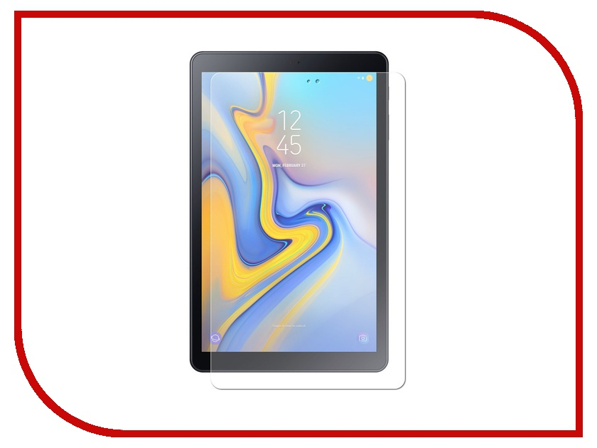 Аксессуар Защитная пленка для Samsung Galaxy Tab A 10.5 LuxCase суперпрозрачная 52666 цена