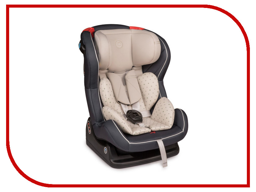 Автокресло Happy Baby Passenger V2 Graphite happy baby happy baby автокресло passenger v2 brown коричневое