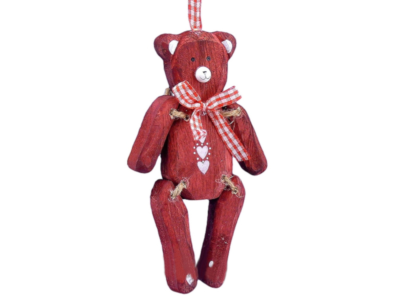 Украшение Lang Любимый Мишка Red 96585