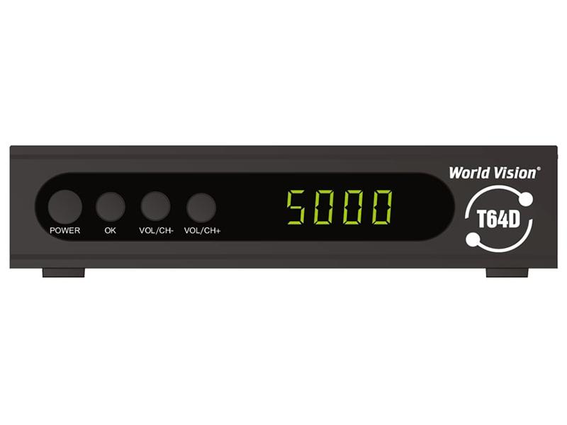 World Vision T64D Выгодный набор + серт. 200Р!!!