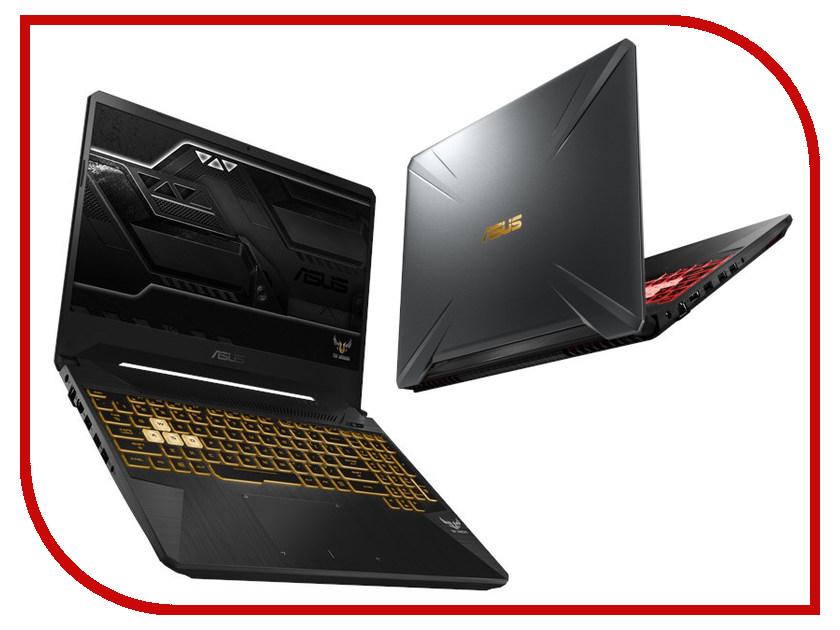 Купить Ноутбук ASUS FX505GM-ES088 Gunmetal 90NR0131-M04860 (Intel Core i7-8750H 2.2 GHz/16384Mb/1000Gb+256Gb SSD/nVidia GeForce GTX 1060 6144Mb/Wi-Fi/Bluetooth/Cam/15.6/1920x1080/DOS)