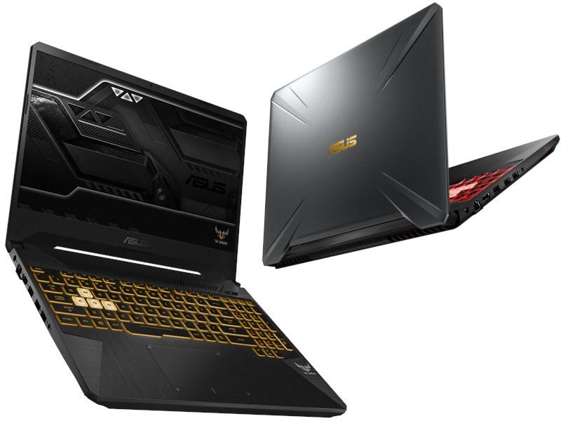 Ноутбук ASUS FX505GE-BQ314T Gunmetal 90NR00S1-M06940 (Intel Core i5-8300H 2.3 GHz/8192Mb/1000Gb+256Gb SSD/nVidia GeForce GTX 1050Ti 4096Mb/Wi-Fi/Bluetooth/Cam/15.6/1920x1080/Windows 10 Home 64-bit)