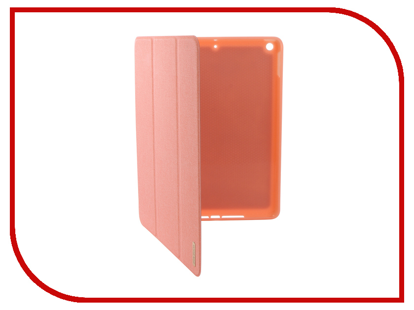 Аксессуар Чехол для APPLE iPad New 9.7-inch Dux Ducis Pen Slot Pink 906246 цена 2017