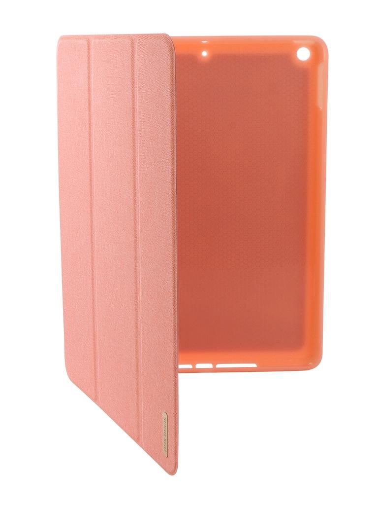 Аксессуар Чехол Dux для APPLE iPad New 9.7-inch Ducis Pen Slot Pink 906246 fashion 360 rotating case for ipad pro 12 9 inch litchi leather stand back cover apple fundas