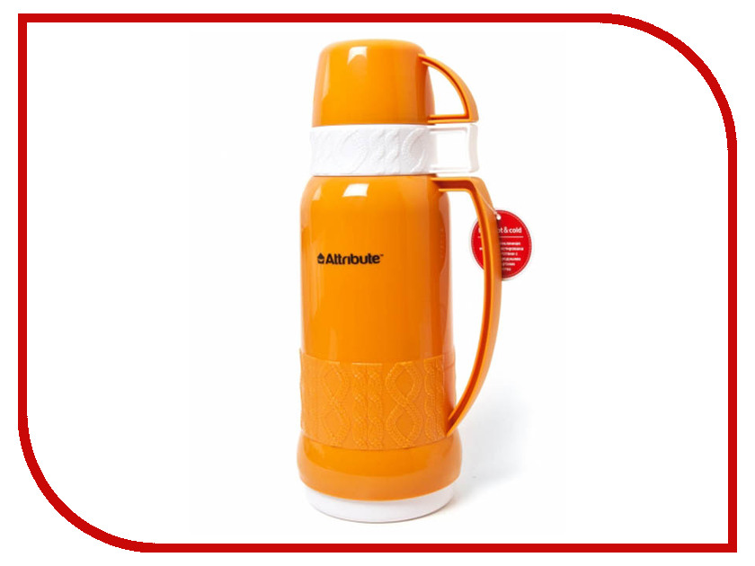 Термос Attribute Jersey 1L Orange AVF601