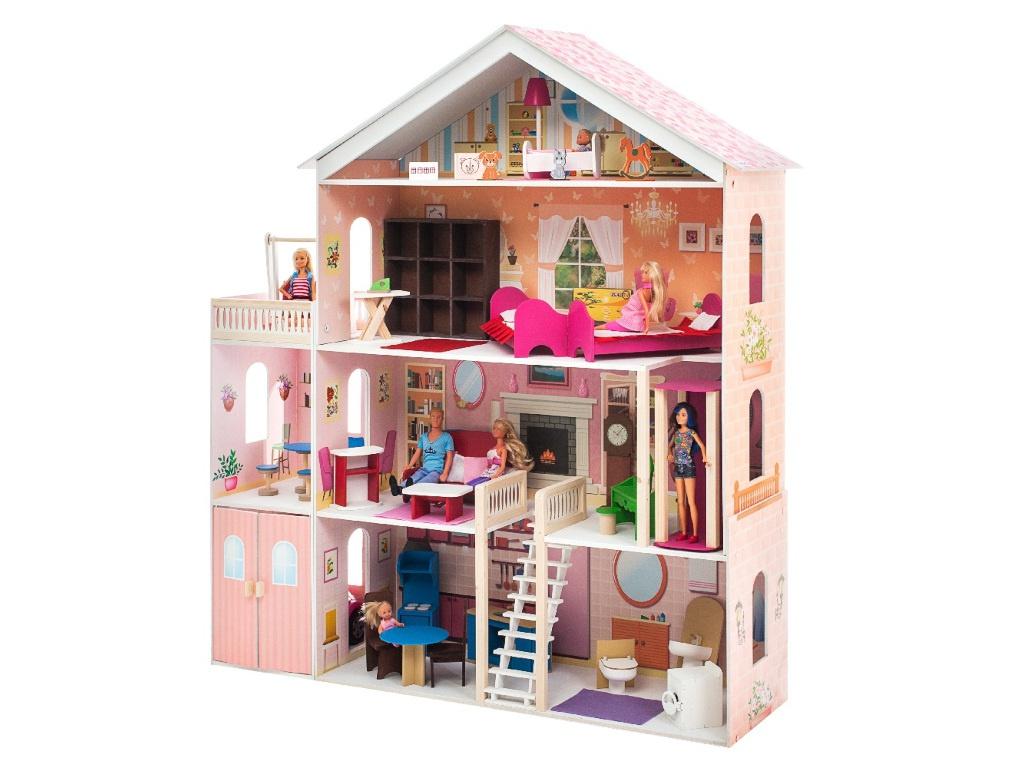 Кукольный домик PAREMO Мечта PD316-02 игра paremo кукольный дворец розовый сапфир pd316 05