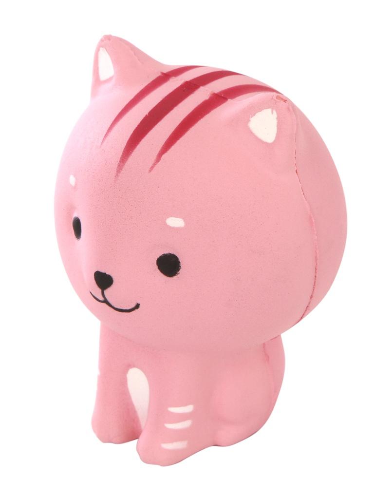 Игрушка антистресс Squishy Котенок розовый ZSQ-07