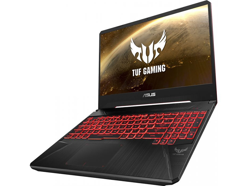 Ноутбук ASUS FX505GE-BQ187 Black 90NR00S3-M07080 (Intel Core i5-8300H 2.3 GHz/8192Mb/1000Gb/nVidia GeForce GTX 1050Ti 4096Mb/Wi-Fi/Bluetooth/Cam/15.6/1920x1080/DOS)