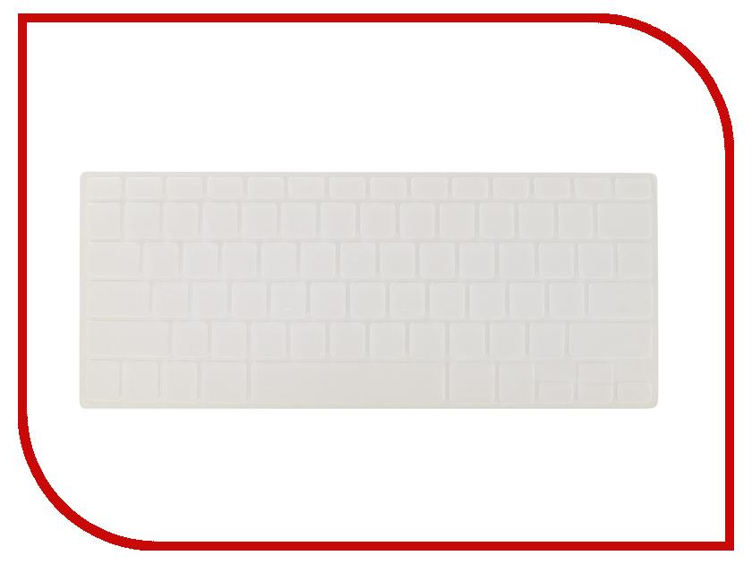 Аксессуар Накладка на клавиатуру для APPLE MacBook Air 13.3 Gurdini Crystal Guard Silicone 290037 protective silicone keyboard cover skin protector guard for macbook 13 3