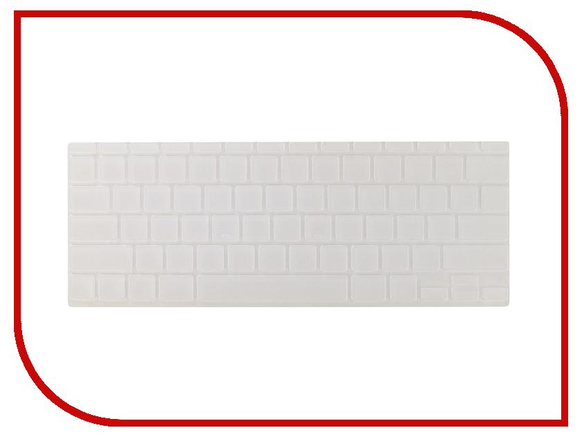Аксессуар Накладка на клавиатуру для APPLE MacBook Air 11.6 Gurdini Crystal Guard Silicone 290005 protective silicone keyboard cover skin protector guard for macbook 13 3