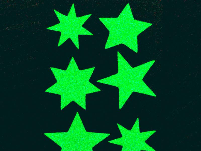 Набор для творчества Наклейка декоративная Freeze Light Дотянись до звезд FL-3-18